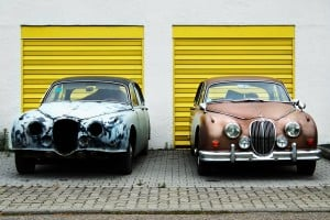 cars, old and new