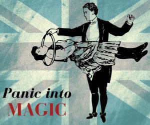 panic into magic blog title